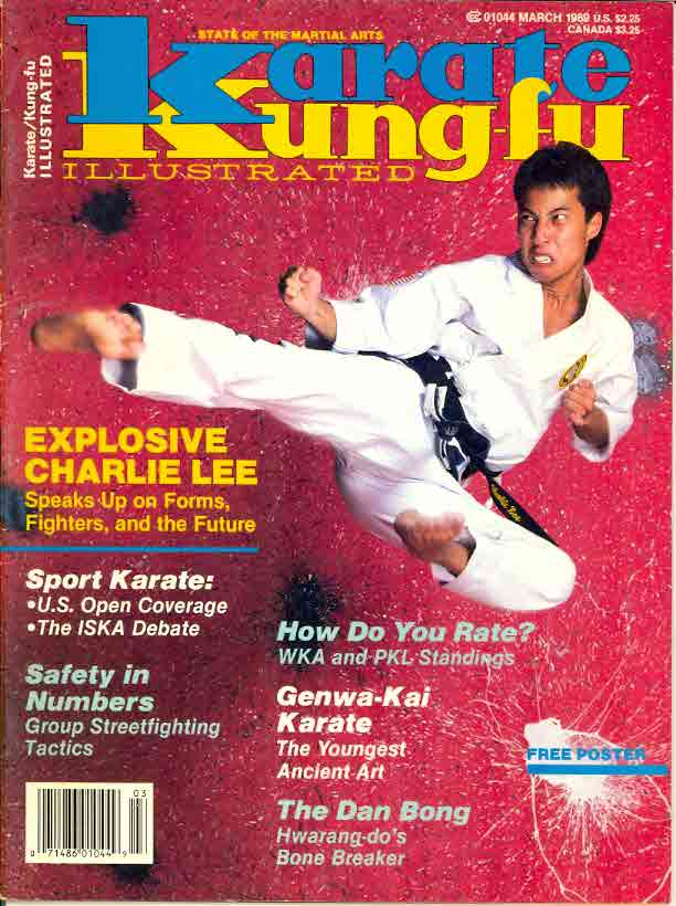 03/89 Karate Kung Fu Illustrated