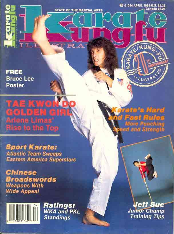 04/89 Karate Kung Fu Illustrated