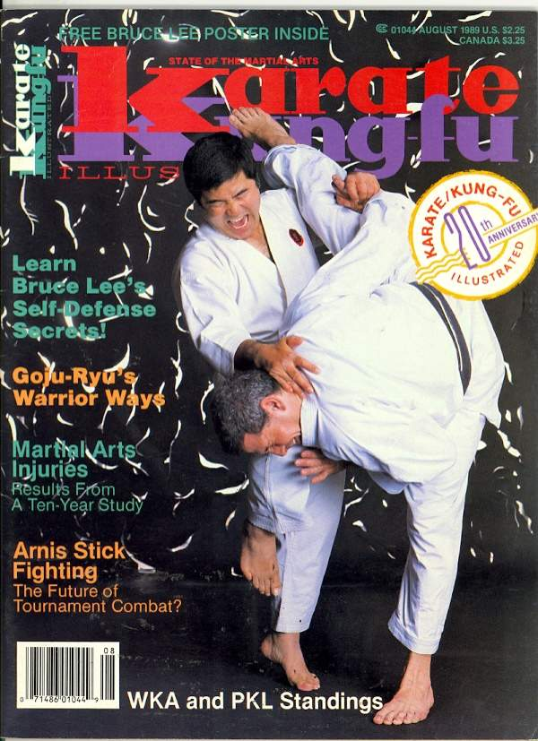 08/89 Karate Kung Fu Illustrated