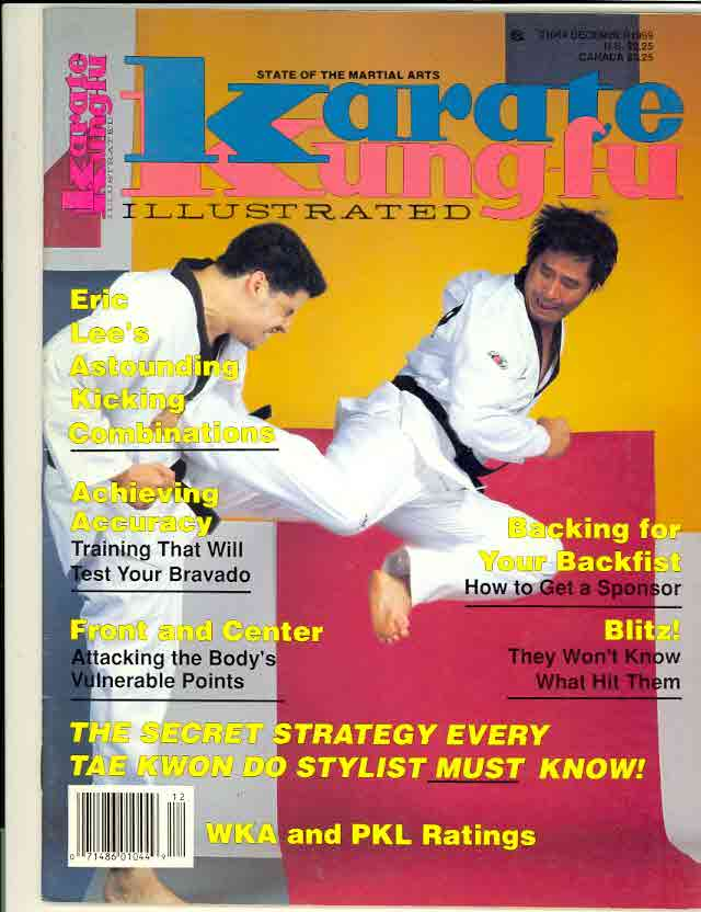 12/89 Karate Kung Fu Illustrated
