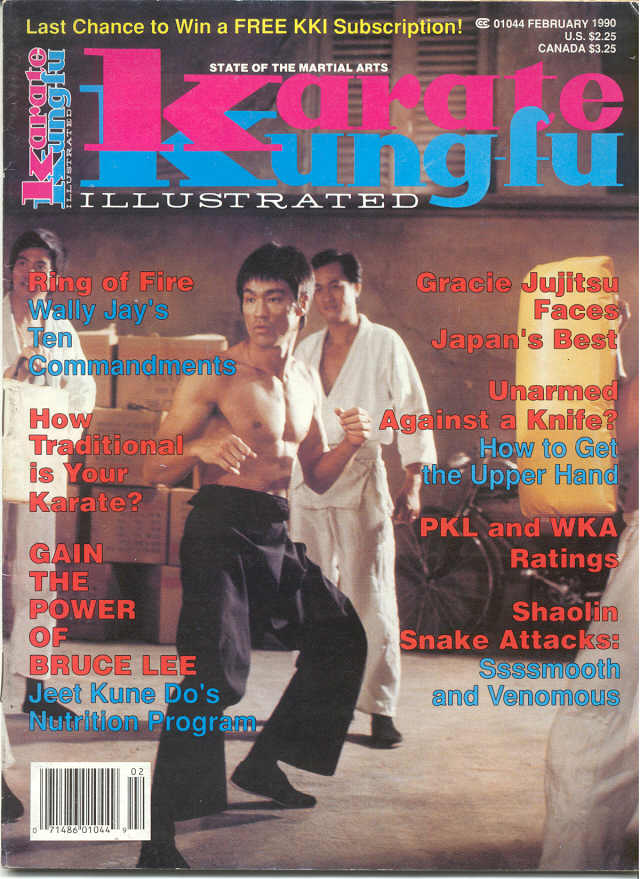 02/90 Karate Kung Fu Illustrated