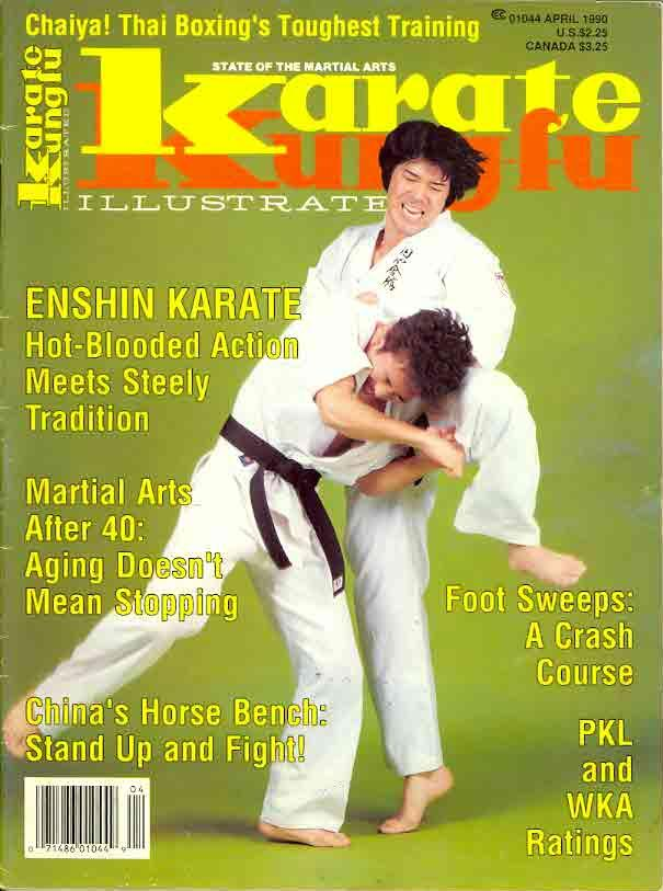 04/90 Karate Kung Fu Illustrated