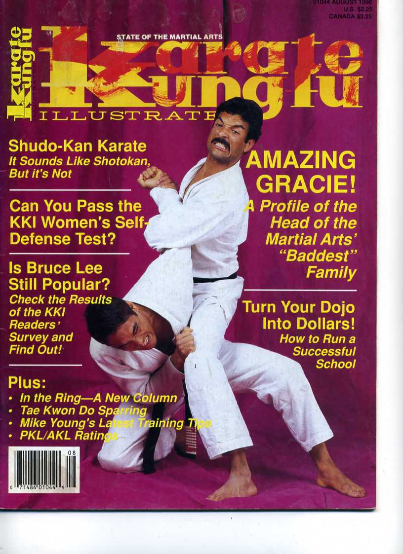 08/90 Karate Kung Fu Illustrated