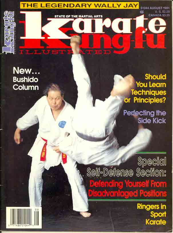 08/91 Karate Kung Fu Illustrated
