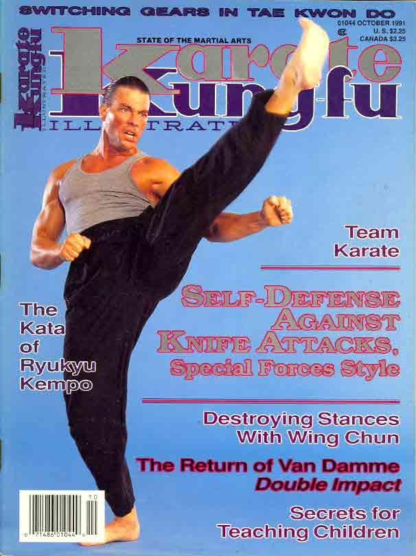 10/91 Karate Kung Fu Illustrated