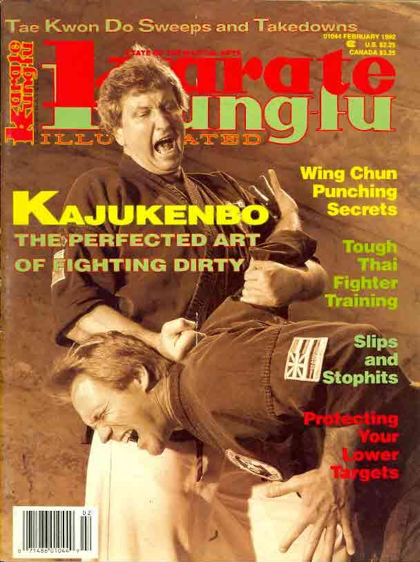 02/92 Karate Kung Fu Illustrated