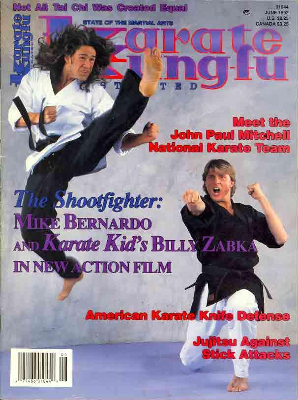 06/92 Karate Kung Fu Illustrated