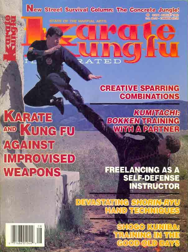 08/92 Karate Kung Fu Illustrated