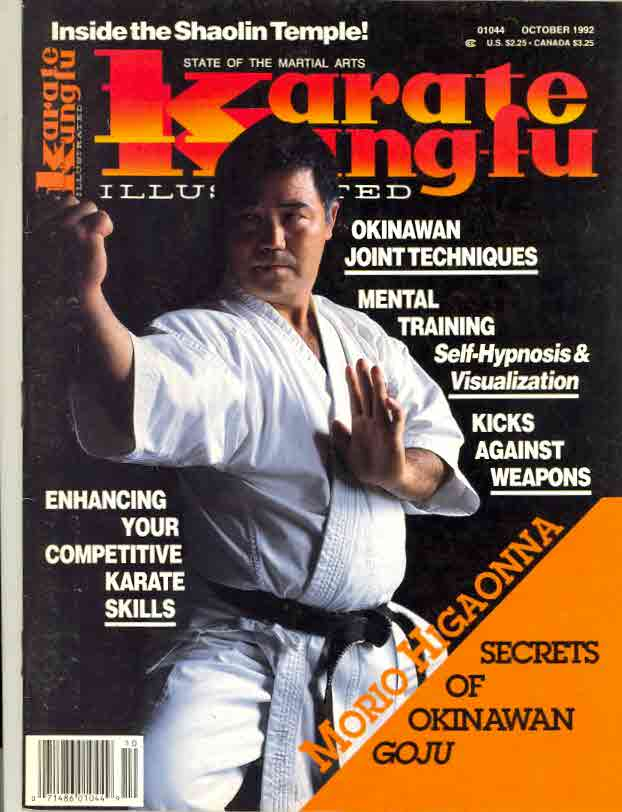 10/92 Karate Kung Fu Illustrated