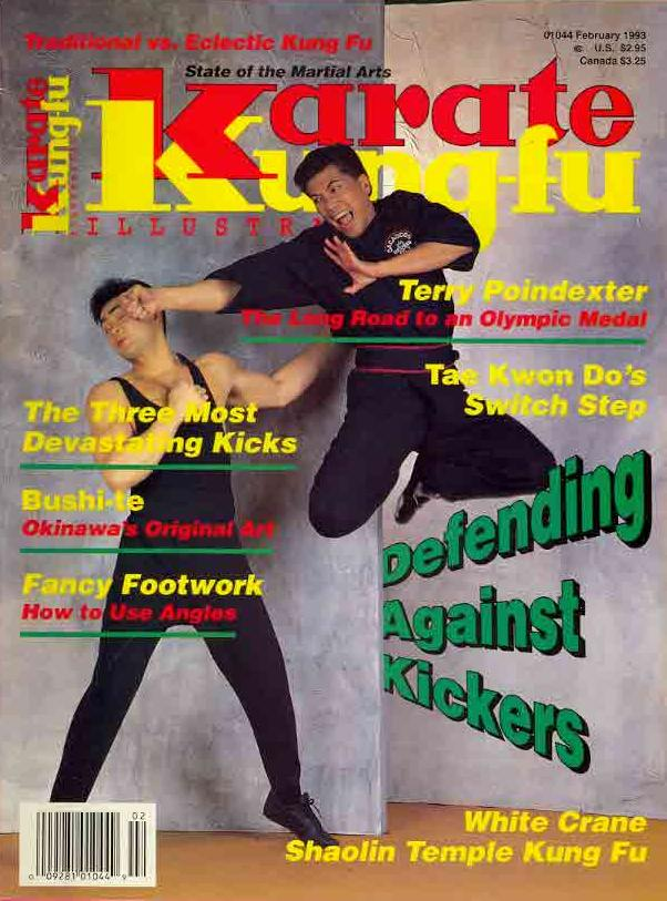 02/93 Karate Kung Fu Illustrated