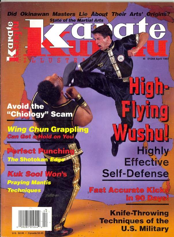 04/93 Karate Kung Fu Illustrated