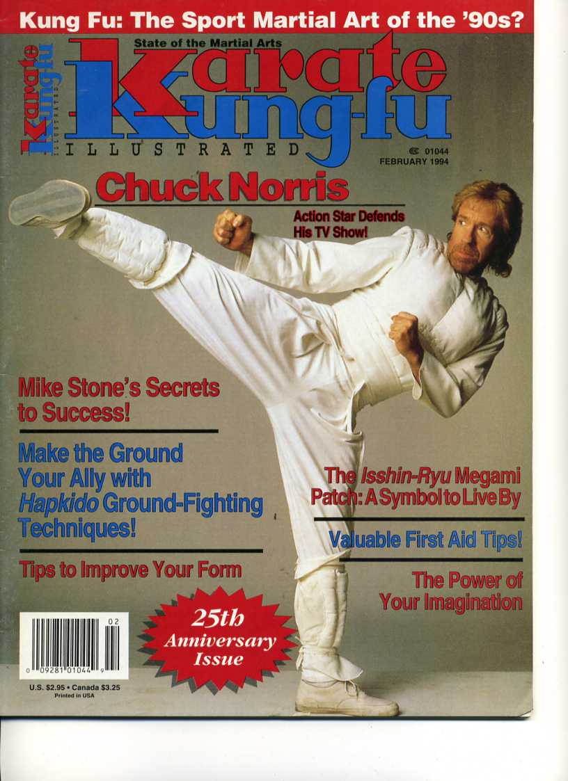 02/94 Karate Kung Fu Illustrated