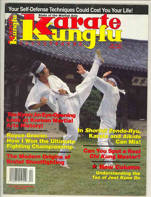 04/94 Karate Kung Fu Illustrated