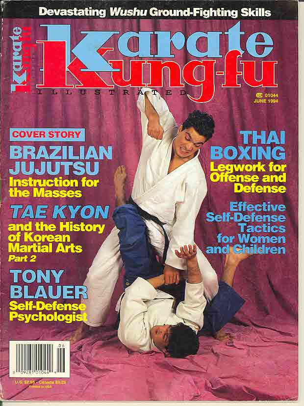 06/94 Karate Kung Fu Illustrated