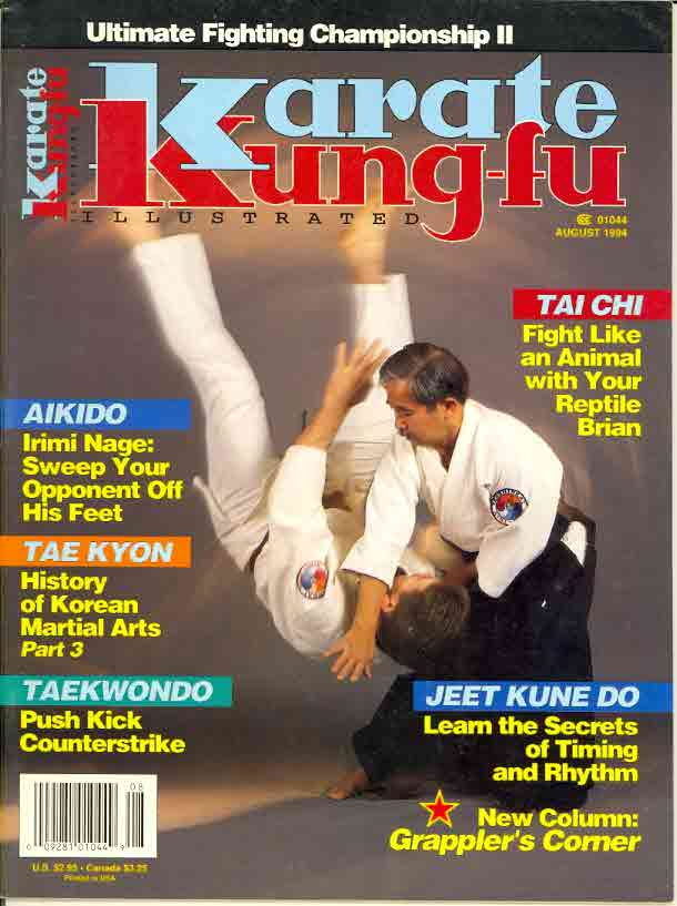 08/94 Karate Kung Fu Illustrated