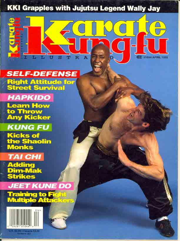 04/95 Karate Kung Fu Illustrated