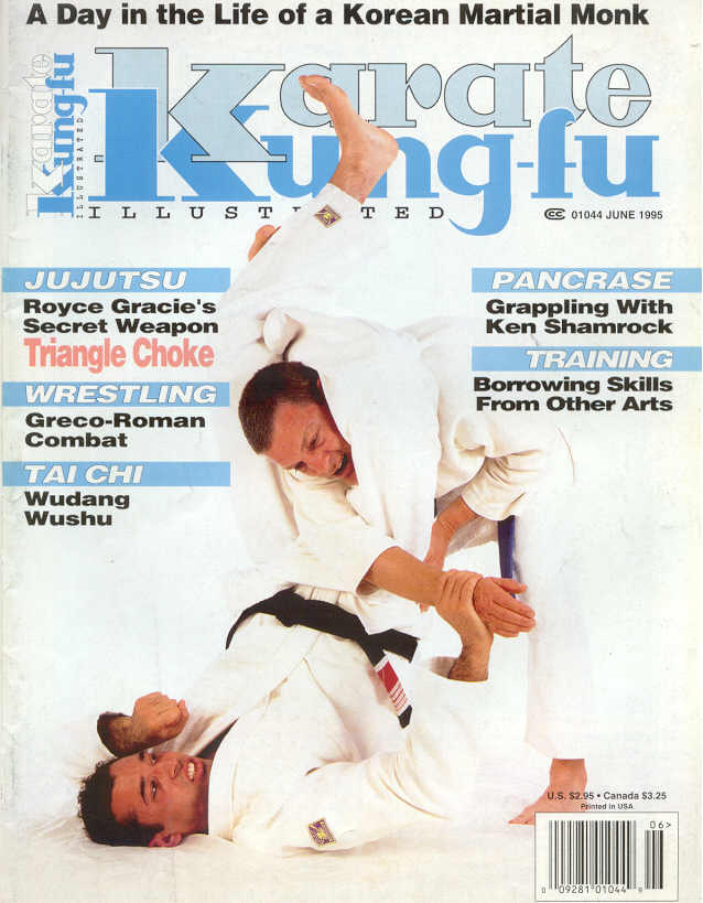 06/95 Karate Kung Fu Illustrated