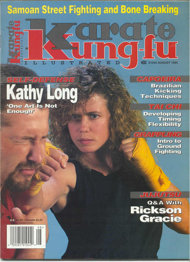 08/95 Karate Kung Fu Illustrated