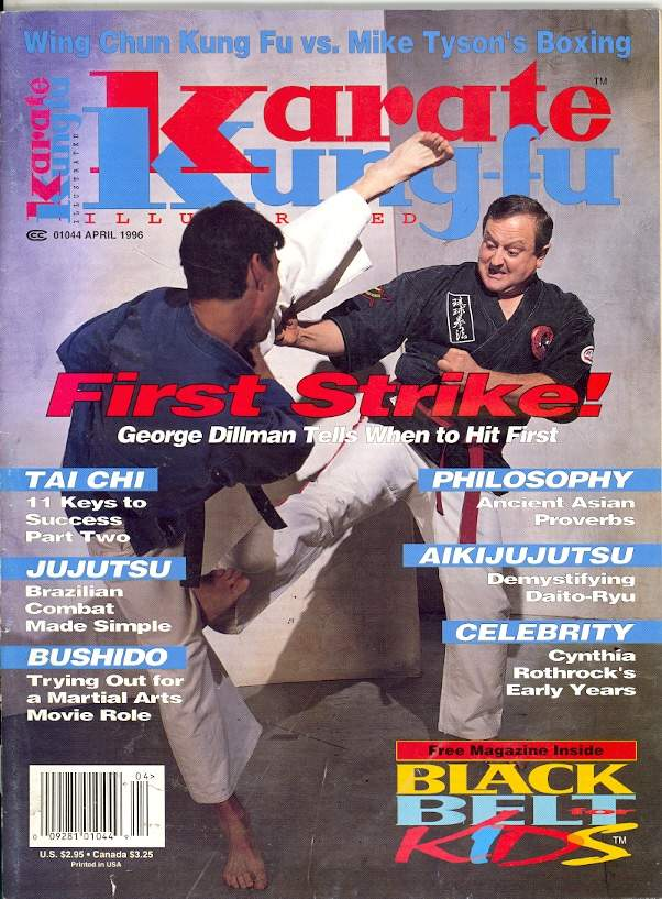 04/96 Karate Kung Fu Illustrated