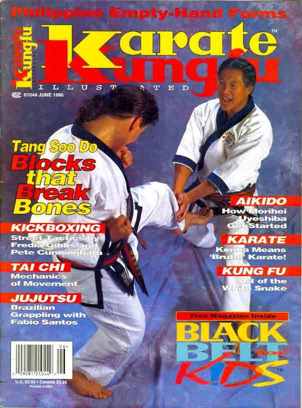 06/96 Karate Kung Fu Illustrated