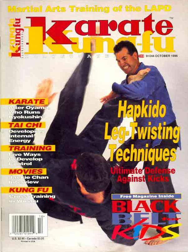 10/96 Karate Kung Fu Illustrated
