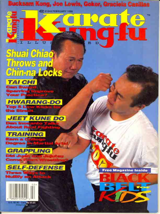 02/98 Karate Kung Fu Illustrated