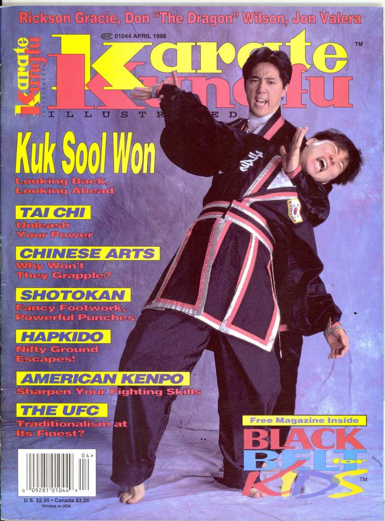 04/98 Karate Kung Fu Illustrated
