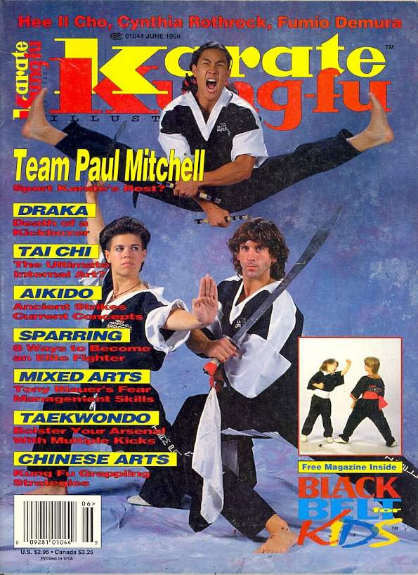06/98 Karate Kung Fu Illustrated
