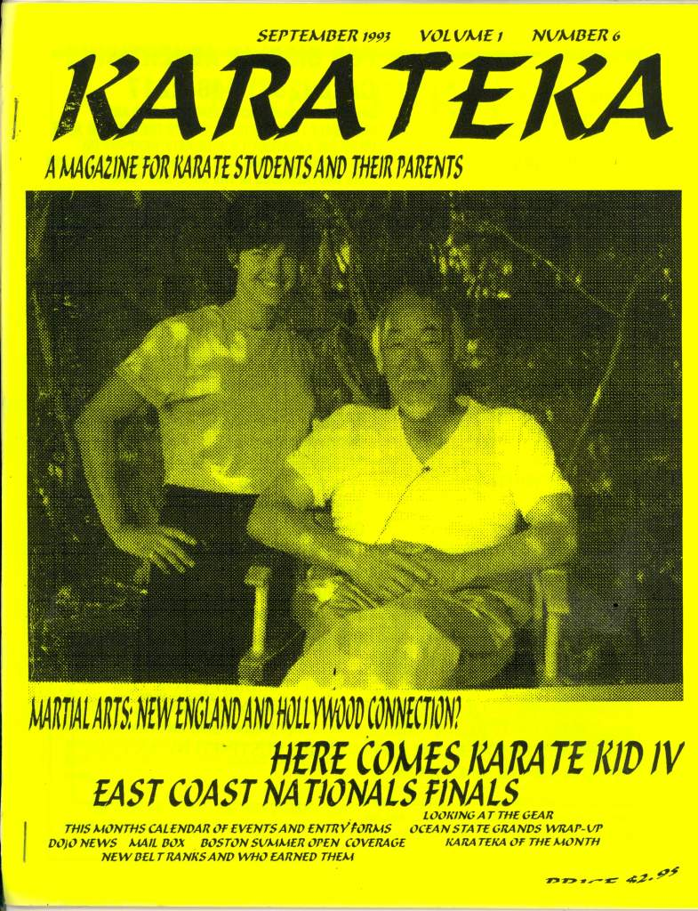 09/93 Karateka News