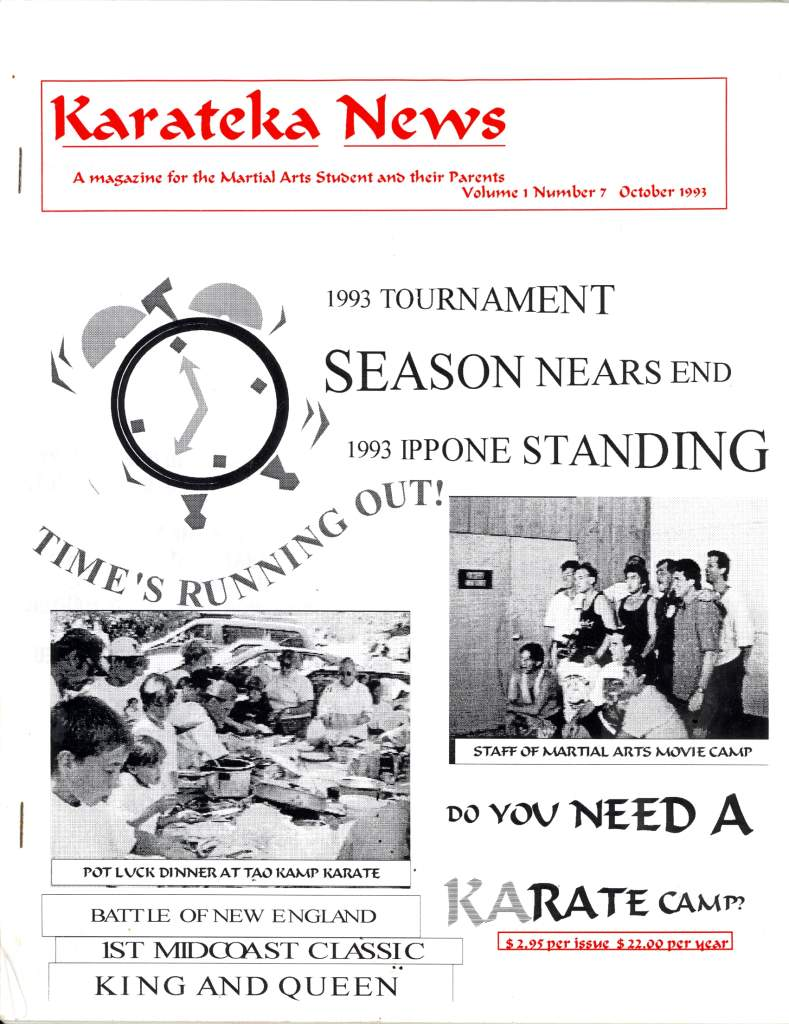 10/93 Karateka News