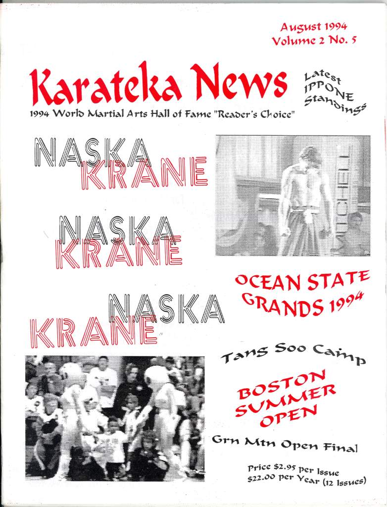 08/94 Karateka News