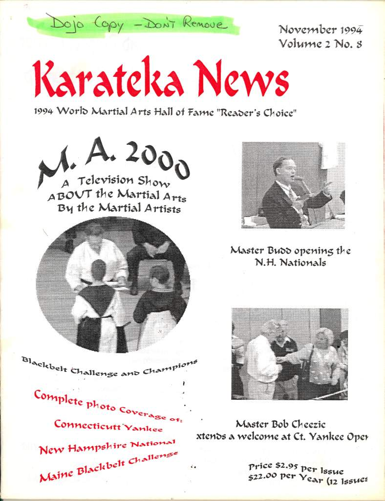 11/94 Karateka News