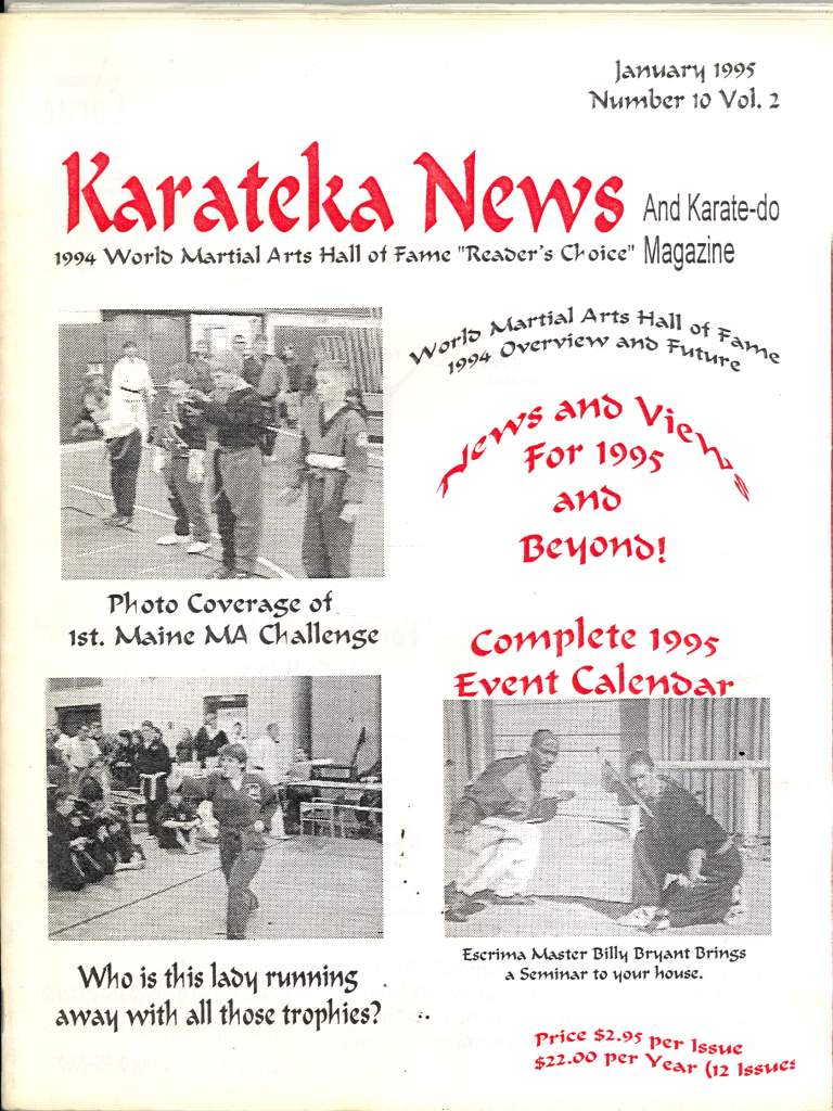 01/95 Karateka News