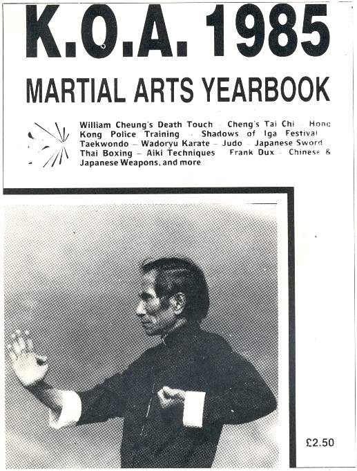1985 Karate & Oriental Arts Yearbook
