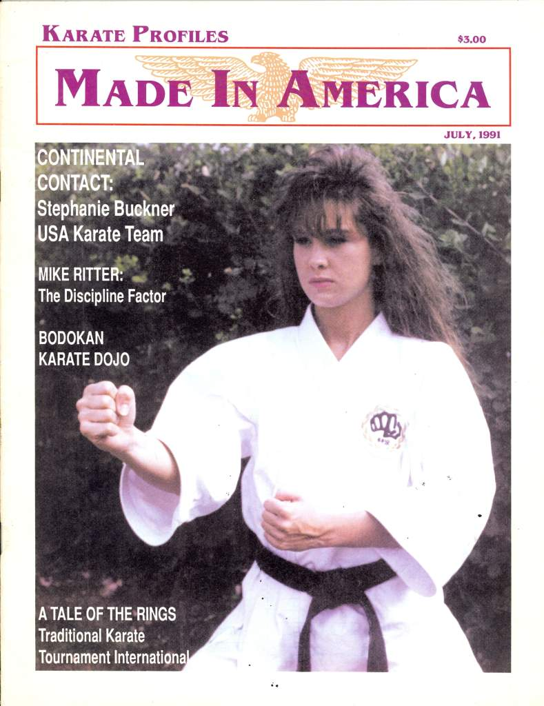 07/91 Karate Profiles Made In America