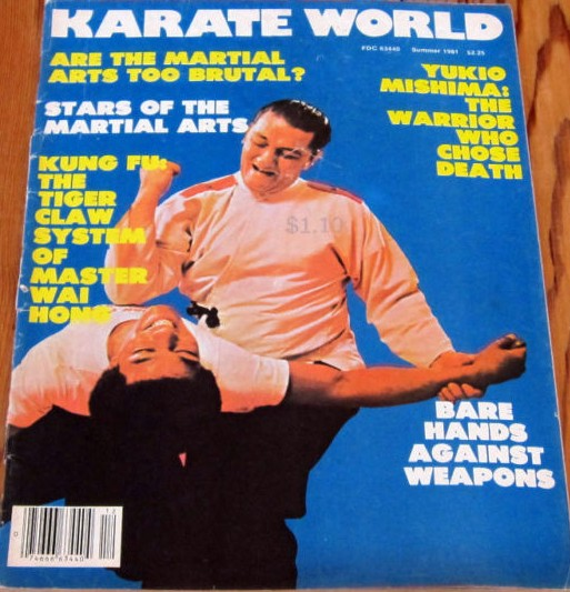 Summer 1981 Karate World