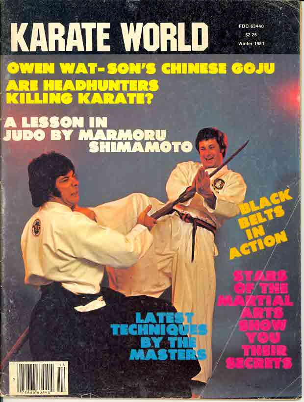 Winter 1981 Karate World