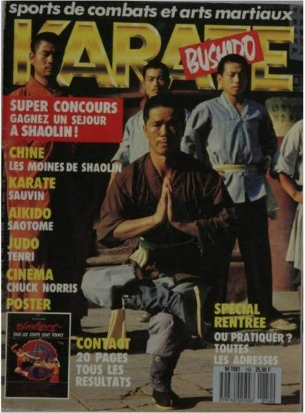09/88 Karate Bushido (French)