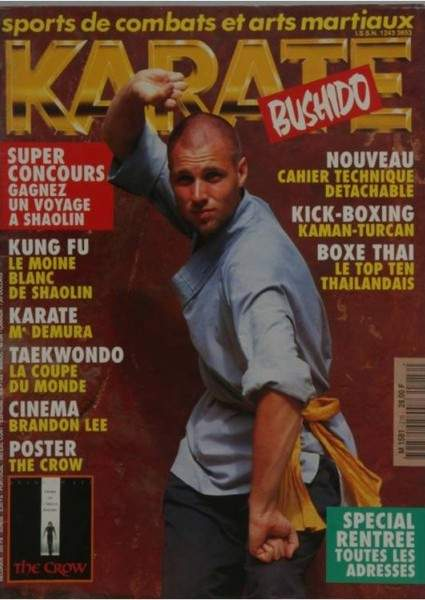 08/94 Karate Bushido (French)