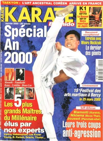 01/00 Karate Bushido (French)