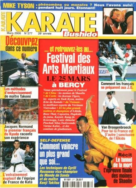 03/00 Karate Bushido (French)