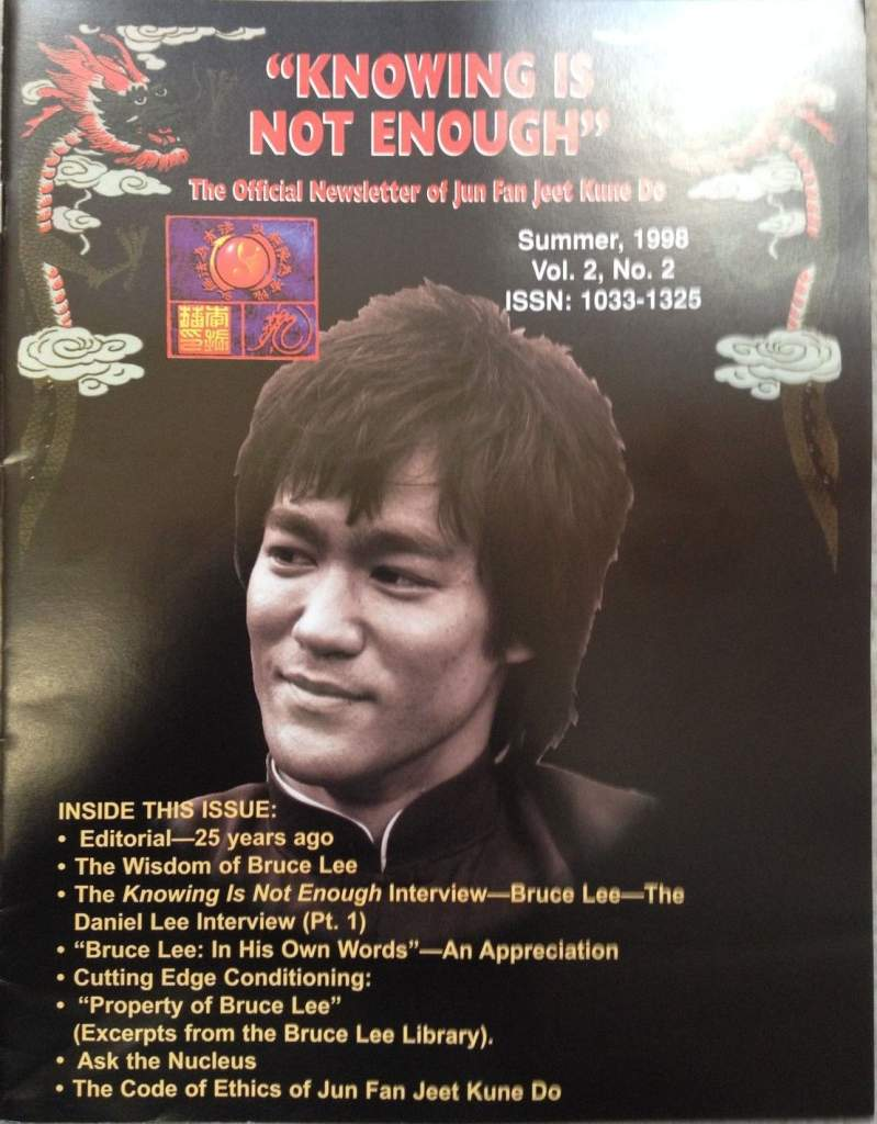 Summer 1998 Knowing is Not Enough Newsletter