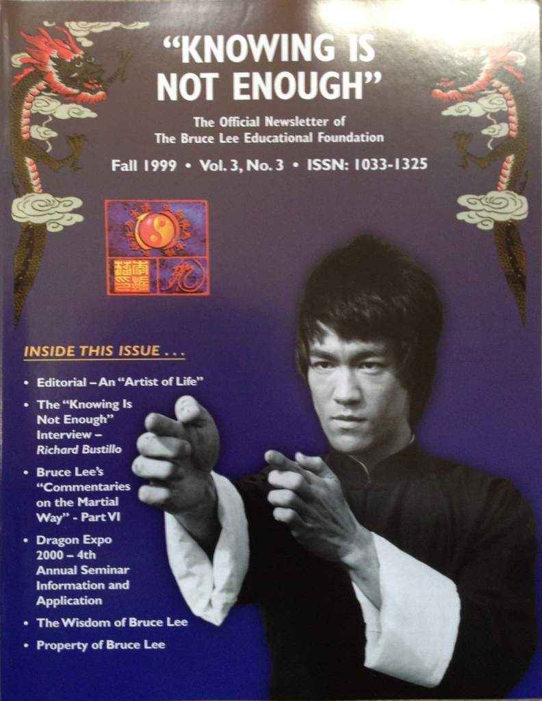 Fall 1999 Knowing is Not Enough Newsletter