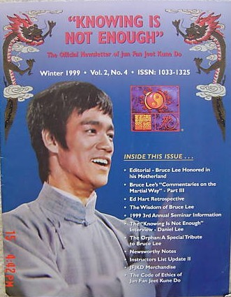 Winter 1999 Knowing is Not Enough Newsletter