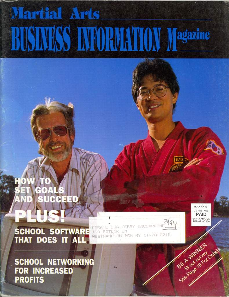 01/94 Martial Arts Business Information