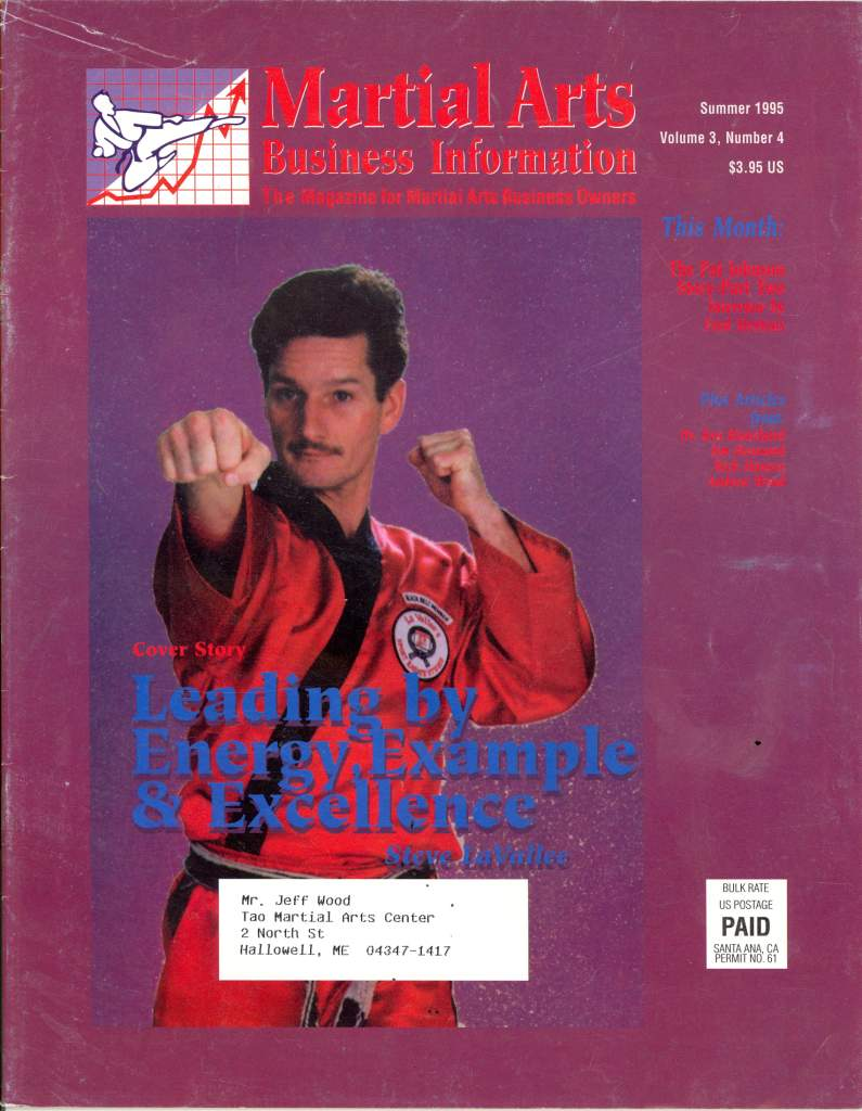 Summer 1995 Martial Arts Business Information