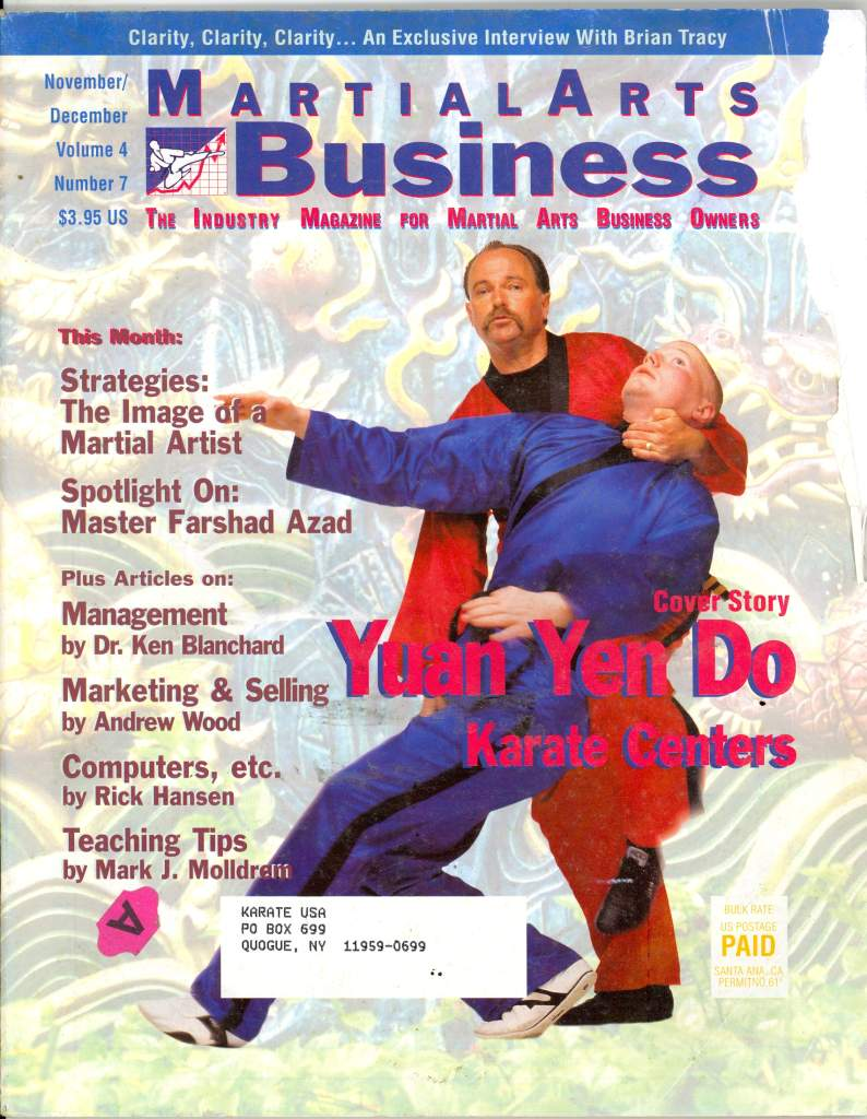 11/96 Martial Arts Business Information