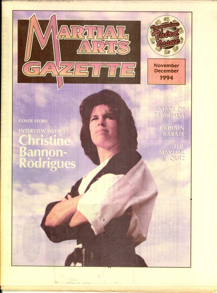 11/94 Martial Arts Gazette Newspaper