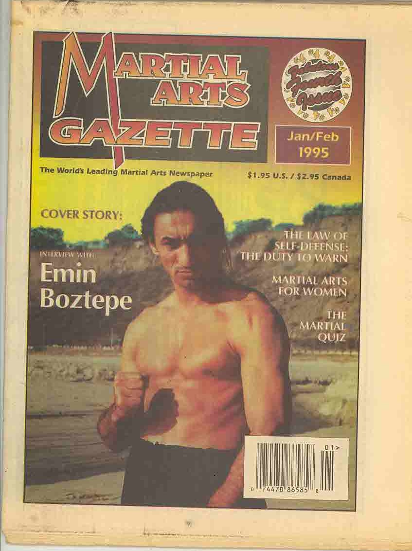 01/95 Martial Arts Gazette Newspaper