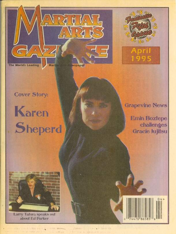 04/95 Martial Arts Gazette Newspaper